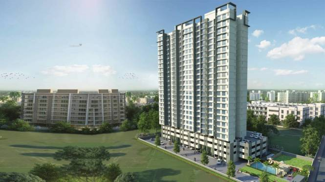 648 sqft, 1 bhk Apartment in Ecopark Eco Winds Bhandup West, Mumbai at Rs. 98.7500 Lacs