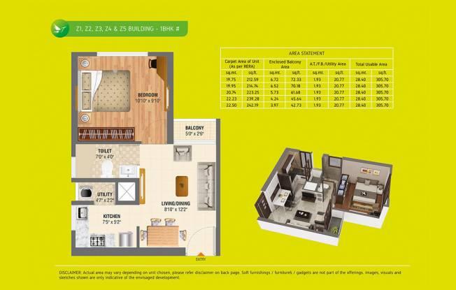 302 sqft, 1 bhk Apartment in Sheltrex Espirana Karjat, Mumbai at Rs. 22.0000 Lacs