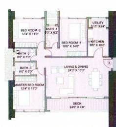 1268 sqft, 3 bhk Apartment in Yash Heights  Mazagaon, Mumbai at Rs. 4.3700 Cr