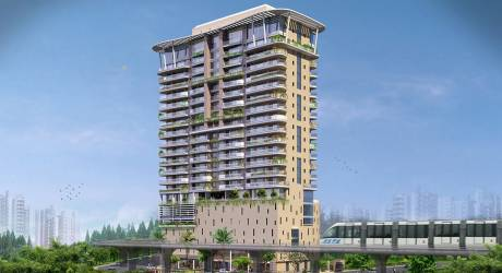 986 sqft, 1 bhk Apartment in Hubtown Vedant Sion, Mumbai at Rs. 1.2300 Cr
