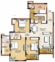 1940 sqft, 3 bhk Apartment in Omaxe Grand Sector 93B, Noida at Rs. 1.2200 Cr