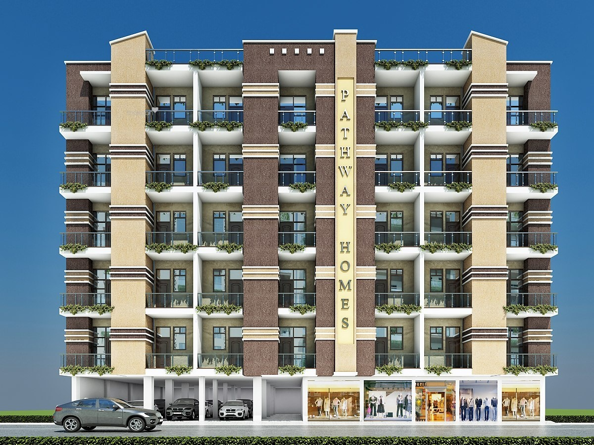 540 sq ft 1BHK 1BHK+2T (540 sq ft) Property By Demera Homz In pathway homews, Shahberi