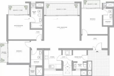 2185 sqft, 3 bhk Apartment in TATA Primanti Sector 72, Gurgaon at Rs. 1.7800 Cr