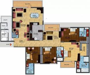 3800 sqft, 4 bhk Apartment in TDI Ourania Sector 53, Gurgaon at Rs. 4.0000 Cr
