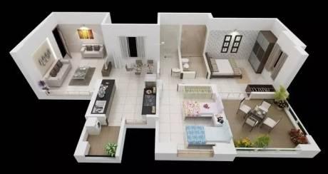 1100 sqft, 2 bhk Apartment in Royal Enrich Hadapsar, Pune at Rs. 82.0000 Lacs