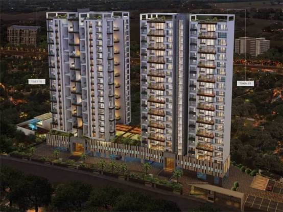 1255 sqft, 2 bhk Apartment in ABIL Imperial Baner, Pune at Rs. 1.3100 Cr