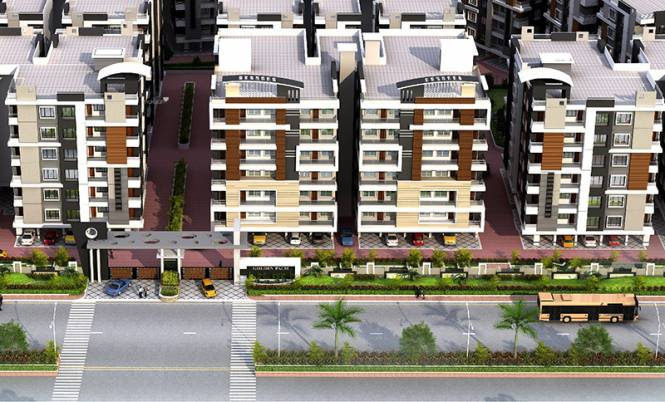 915 sqft, 2 bhk Apartment in Builder pearl palm Vijay Nagar, Indore at Rs. 19.2100 Lacs