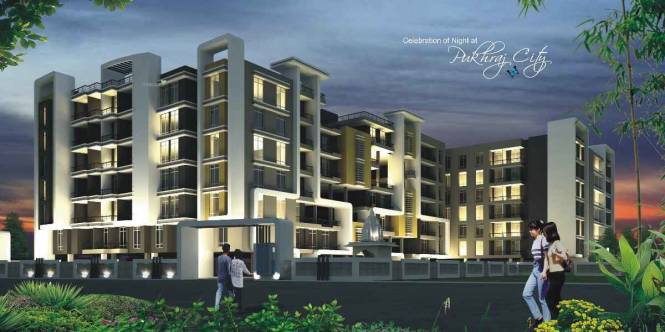 1500 sqft, 3 bhk Apartment in PRC Group Pukhraj City Ring road, Indore at Rs. 33.7500 Lacs