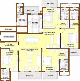 2800 sqft, 4 bhk Apartment in ATS Dolce Zeta, Greater Noida at Rs. 27000