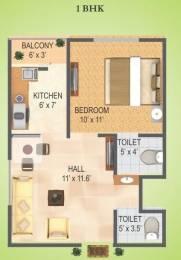585 sqft, 1 bhk Apartment in RAS Town Vijay Nagar, Indore at Rs. 12.0000 Lacs