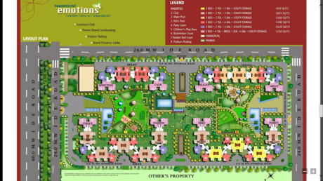 950 sqft, 2 bhk Apartment in Paramount Emotions Sector 1 Noida Extension, Greater Noida at Rs. 31.5800 Lacs