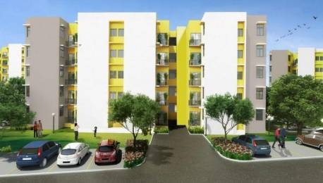 695 sqft, 2 bhk Apartment in Mahindra Happinest Boisar, Mumbai at Rs. 23.4563 Lacs