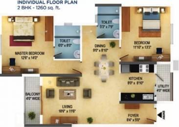 1260 sqft, 2 bhk Apartment in Mantri Serenity Subramanyapura, Bangalore at Rs. 83.0300 Lacs