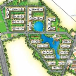 1200 sqft, 2 bhk Apartment in IJM Rain Tree Park Willows Grande Namburu, Guntur at Rs. 45.6000 Lacs