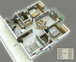 1420 sqft, 2 bhk Apartment in S and S Green Green Fields Poranki, Vijayawada at Rs. 63.9000 Lacs