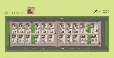 1250 sqft, 2 bhk Apartment in Bharathi Capital Square Koppuravuru, Guntur at Rs. 37.5000 Lacs