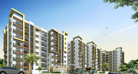 1345 sqft, 2 bhk Apartment in Vertex Siris Signa Benz Circle, Vijayawada at Rs. 87.4200 Lacs