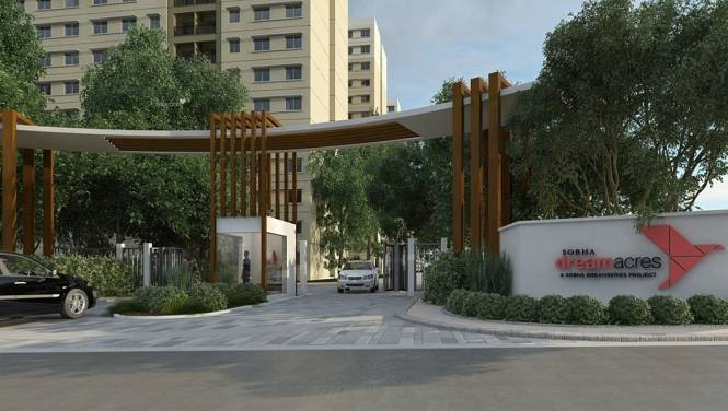1007 sqft, 2 bhk Apartment in Sobha Rain Forest at Dream Acres Varthur, Bangalore at Rs. 65.0000 Lacs