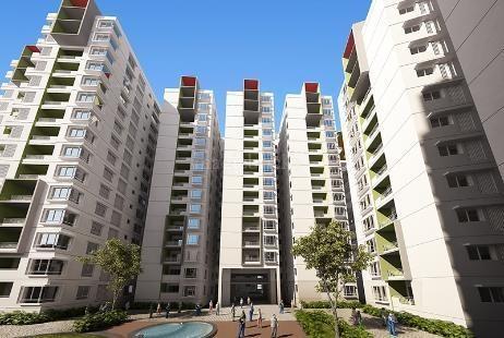 1070 sqft, 2 bhk Apartment in Ramky One Kosmos Nallagandla Gachibowli, Hyderabad at Rs. 45.9940 Lacs