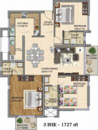 1727 sqft, 3 bhk Apartment in Kolte Patil iTowers Exente Electronic City Phase 2, Bangalore at Rs. 84.4600 Lacs