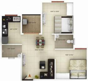 674 sqft, 2 bhk Apartment in Icon Happy Living Electronic City Phase 2, Bangalore at Rs. 29.0000 Lacs