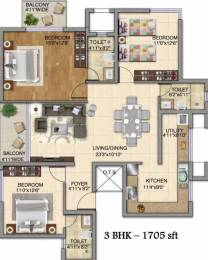 1705 sqft, 3 bhk Apartment in Kolte Patil iTowers Exente Electronic City Phase 2, Bangalore at Rs. 87.5900 Lacs