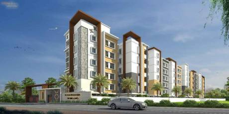 1145 sqft, 2 bhk Apartment in Builder Kodanda Rama Homeland Tadepalli, Guntur at Rs. 45.2200 Lacs