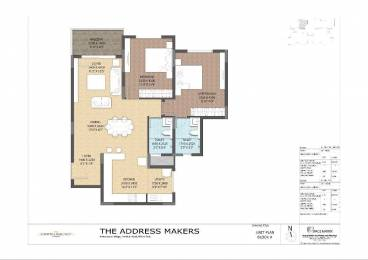 1175 sqft, 2 bhk Apartment in The Address The Central Regency Address Bellandur, Bangalore at Rs. 70.4000 Lacs