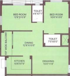 1090 sqft, 2 bhk Apartment in Motwani Lords Way Uttara, Bhubaneswar at Rs. 24.5250 Lacs