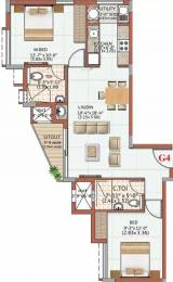 941 sqft, 2 bhk Apartment in Ahad Excellencia Avalahalli Off Sarjapur Road, Bangalore at Rs. 48.3000 Lacs