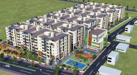 1551 sqft, 3 bhk Apartment in Hemadurga Jewel County Gannavaram, Vijayawada at Rs. 54.2800 Lacs