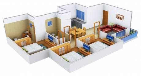 1241 sqft, 3 bhk Apartment in Provident Harmony Jakkur, Bangalore at Rs. 65.0000 Lacs