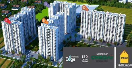 872 sqft, 2 bhk Apartment in VBHC Palmhaven II Kumbalgodu, Bangalore at Rs. 31.2786 Lacs