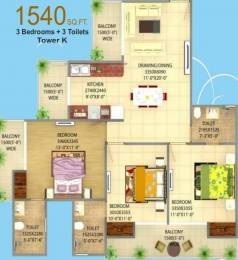1540 sqft, 3 bhk Apartment in Victory Central Sector 12 Noida Extension, Greater Noida at Rs. 34.2400 Lacs