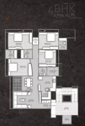 2799 sqft, 4 bhk Apartment in Setu Copper Stone Thaltej, Ahmedabad at Rs. 2.1000 Cr