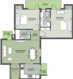 1234 sqft, 2 bhk Apartment in Nimai Greens Sector 22 Bhiwadi, Bhiwadi at Rs. 29.9900 Lacs