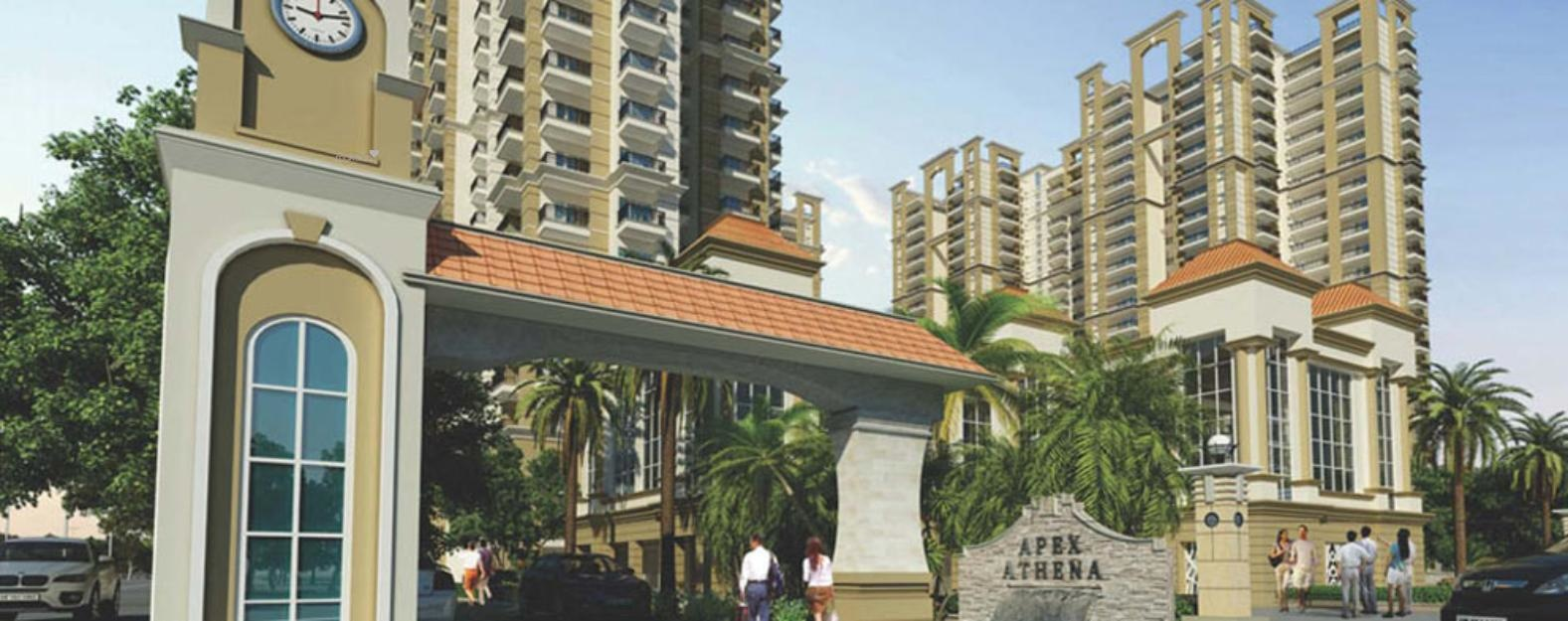 1732 sq ft 3BHK 3BHK+3T (1,732 sq ft) + Study Room Property By Ajmani Estates In Athena, Sector 75
