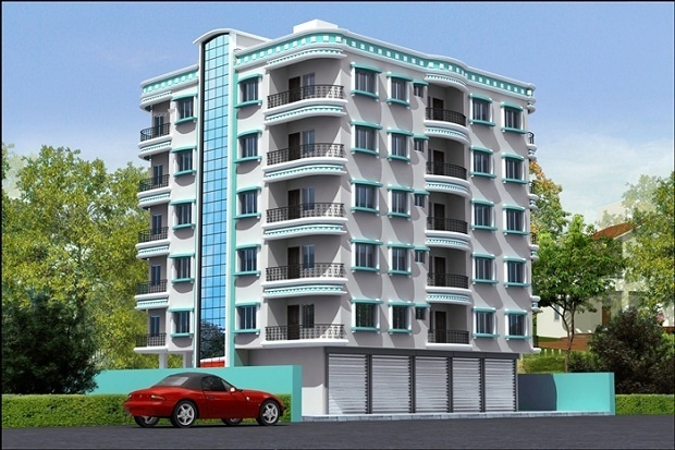 1562 sqft, 2 bhk Apartment in Dewki Construction Builders Asha Enclave Rajarhat, Kolkata at Rs. 48.4200 Lacs