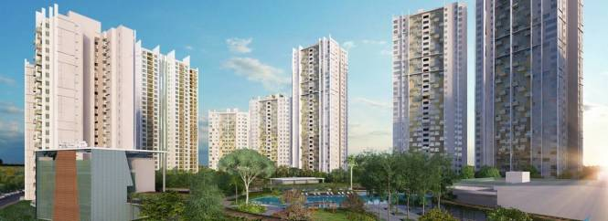 1524 sqft, 3 bhk Apartment in Elita Garden Vista Phase 2 New Town, Kolkata at Rs. 67.8180 Lacs