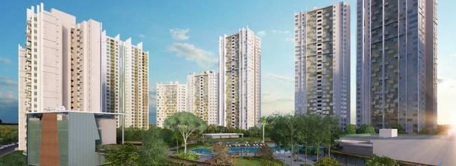 1475 sqft, 3 bhk Apartment in Elita Garden Vista Phase 2 New Town, Kolkata at Rs. 64.4575 Lacs
