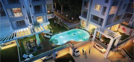 1450 sqft, 3 bhk Apartment in Bhawani Twin Towers Howrah, Kolkata at Rs. 73.9500 Lacs