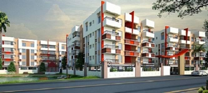 1288 sqft, 3 bhk Apartment in Bhawani Dreams Dum Dum, Kolkata at Rs. 39.9280 Lacs