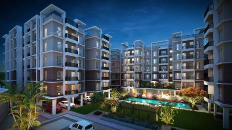 1189 sqft, 3 bhk Apartment in Bagaria Pravesh Kamarhati on BT Road, Kolkata at Rs. 39.8315 Lacs
