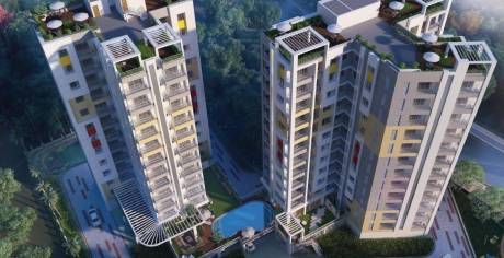 1041 sqft, 2 bhk Apartment in Builder Bhawani Twin Towers Howrah, Kolkata at Rs. 54.4964 Lacs