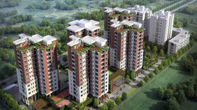 1835 sqft, 3 bhk Apartment in Bengal Swan Court New Town, Kolkata at Rs. 91.8834 Lacs