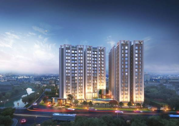 766 sqft, 2 bhk Apartment in Builder RAJAT Avante Joka, Kolkata at Rs. 26.6568 Lacs