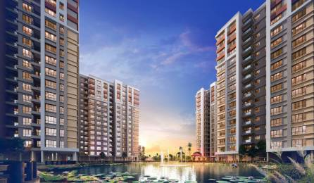 1357 sqft, 2 bhk Apartment in Builder Southwinds E M Bypass, Kolkata at Rs. 44.8489 Lacs
