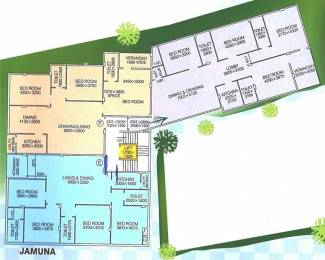 1970 sqft, 4 bhk Apartment in Builder BSM ENCLAVE Bangur, Kolkata at Rs. 1.0244 Cr