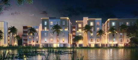 1200 sqft, 3 bhk Apartment in Rajwada Lake Bliss Narendrapur, Kolkata at Rs. 39.6000 Lacs