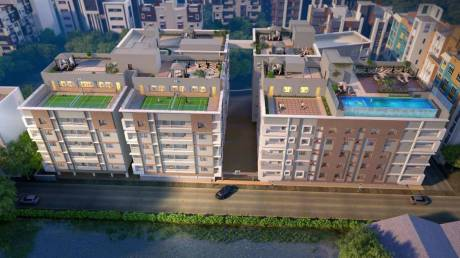1023 sqft, 2 bhk Apartment in Builder BSM ENCLAVE Bangur, Kolkata at Rs. 53.1960 Lacs